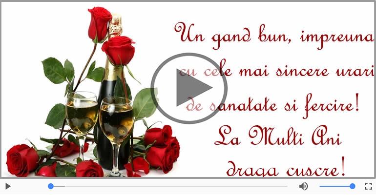 Felicitari muzicale de zi de nastere - Felicitare muzicala de zi de nastere - La multi ani, Cuscru!