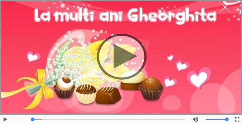 Felicitari muzicale de zi de nastere - It's your birthday, Gheorghita! La multi ani!