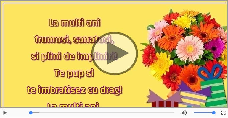 Felicitari muzicale de zi de nastere - La multi ani, Ionica!