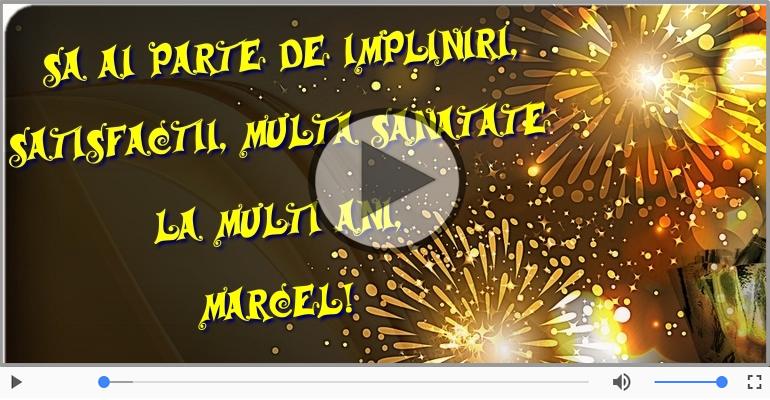 Felicitari muzicale de zi de nastere - Happy Birthday to you, Marcel!