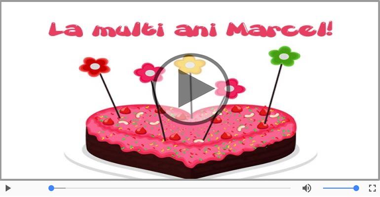 Felicitari muzicale de zi de nastere - La multi ani, Marcel! Happy Birthday Marcel!