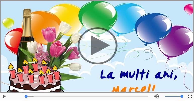 Felicitari muzicale de zi de nastere - Felicitare muzicala de zi de nastere - La multi ani, Marcel!