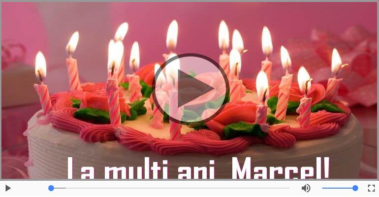 Felicitari muzicale de zi de nastere - Felicitare muzicala - Happy Birthday Marcel!