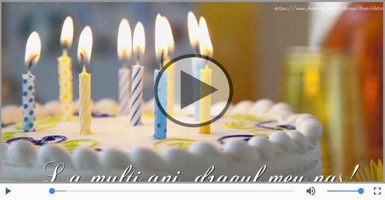 Felicitari muzicale de zi de nastere - Felicitare muzicala de zi de nastere - La multi ani, Nasul meu!