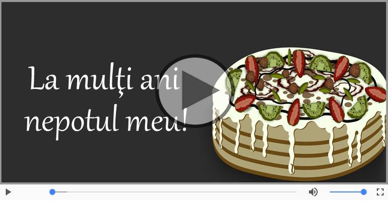 Felicitari muzicale de zi de nastere - Happy Birthday  Nepot!