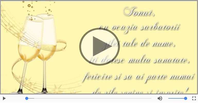 Felicitari muzicale de Ziua Numelui - La multi ani, Ionut!