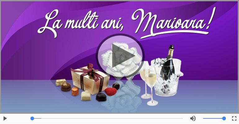 Felicitari muzicale de Ziua Numelui - La multi ani, Marioara!